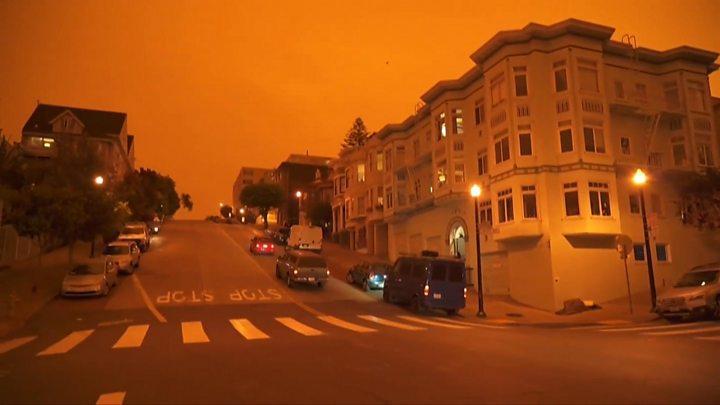 Photo of Oregon wildfires: Half a million people flee dozens of infernos