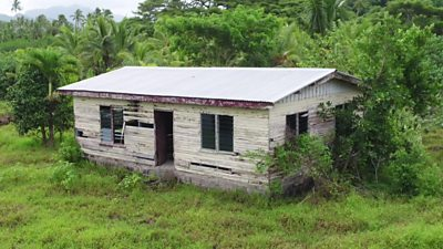 Photo of Climate change: Rising sea levels in Fiji create 'ghost towns'