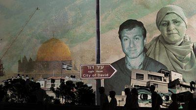 Photo of Israeli settlers' Chelsea boss backer