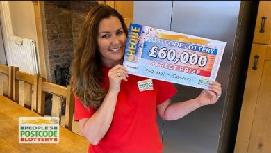 Photo of Couple forced to cancel wedding over Covid find out they've won Lottery jackpot