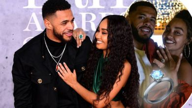 Photo of Leigh Anne Pinnock: Little Mix star's boyfriend gave her £25,000 engagement ring