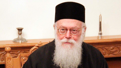 Photo of Greece's Archbishop Hospitalized With Coronavirus Symptoms