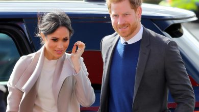 Photo of Meghan Markle Wore A J. Crew Coat On A Rare Outing With Prince Harry