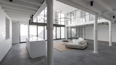 Photo of Luxurious Duplex Loft Apartment by STAM architecten