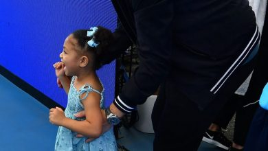 Photo of Serena William's 3-Year-Old Daughter Olympia Was Her Biggest Cheerleader At Australian Tennis Tournament