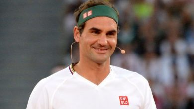 Photo of Roger Federer watches on as Dan Evans beats Jeremy Chardy to set up Qatar Open clash