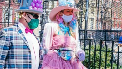 Photo of East Village and Easter Sunday Style Collided This Weekend at Tompkins Square Park
