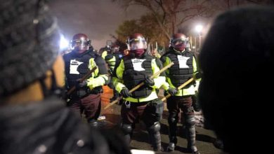 Photo of Daunte Wright shooting: Clashes with police for second night in Minneapolis