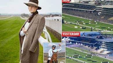 Photo of Jockey Rachael turns front-runner in fashion stakes