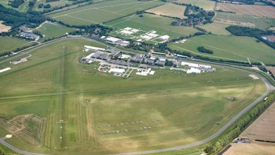 Photo of Two men killed in light aircraft crash near Goodwood Airfield