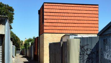 Photo of Terracotta House by Austin Maynard Architects