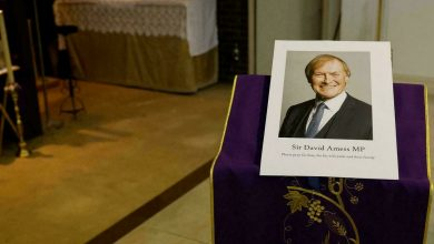 Photo of Fatal stabbing of Conservative MP Sir David Amess declared terrorist incident