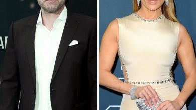 Photo of Ben Affleck Says He Is 'Very Happy' As His Relationship With Jennifer Lopez Gets More Serious